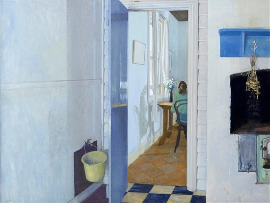 BRIAN DUNLOP (1938-2009) Inside c.1972 gouache on paper