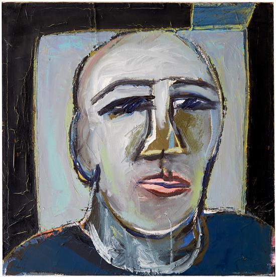 BARBARA LICHA (born 1957) Lips 1997 oil on canvas