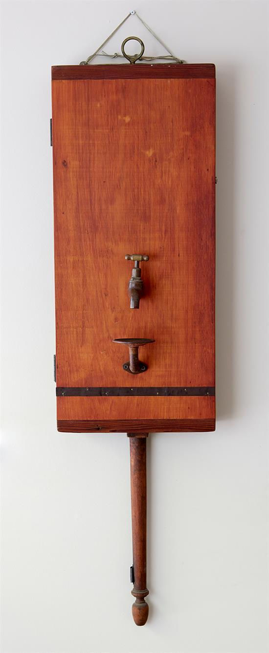 ALEX ASCH (American, born 1965) El Nino Bell 1998 timber, wax and metal
