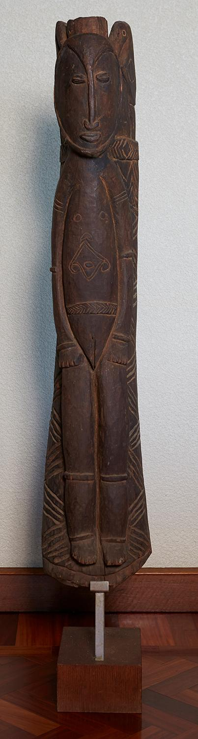AN ABELUM PEOPLE ANCESTOR FIGURE, EAST SEPIK PROVINCE, PAPUA NEW GUINEA