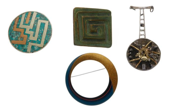 A COLLECTION OF MODERNIST COSTUME JEWELLERY