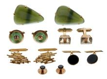 A COLLECTION OF VINTAGE CUFFLINKS