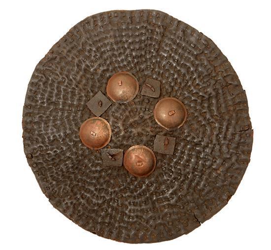 AN AFGHAN SIPAR DHAL, 18TH CENTURY