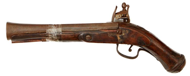 A MIDDLE EASTERN BLUNDERBUSS, MID 19TH CENTURY