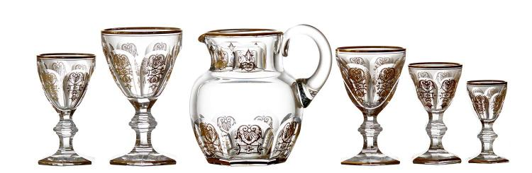 A COMPREHENSIVE SUITE OF BACCARAT ''EMPIRE'' STEMWARE