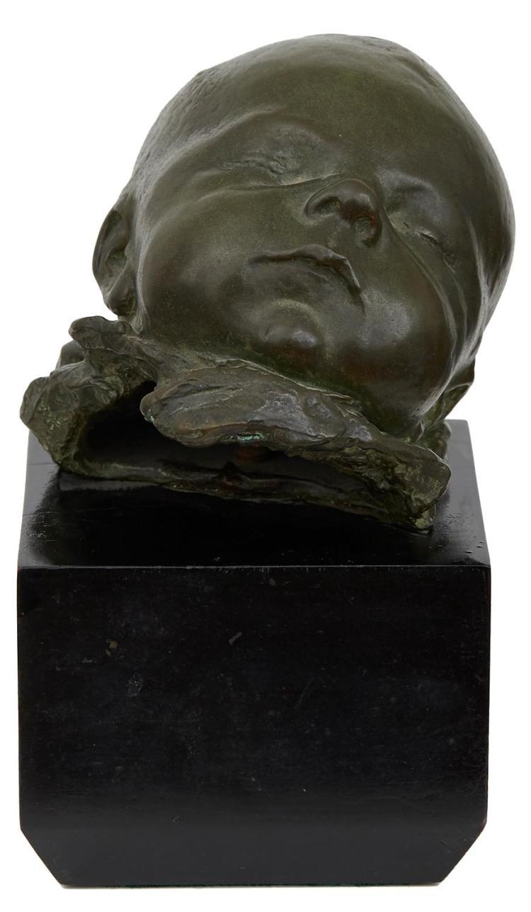 WILLIAM REID DICK (Scottish, 1879-1961) Dawn c.1920 bronze with wood base