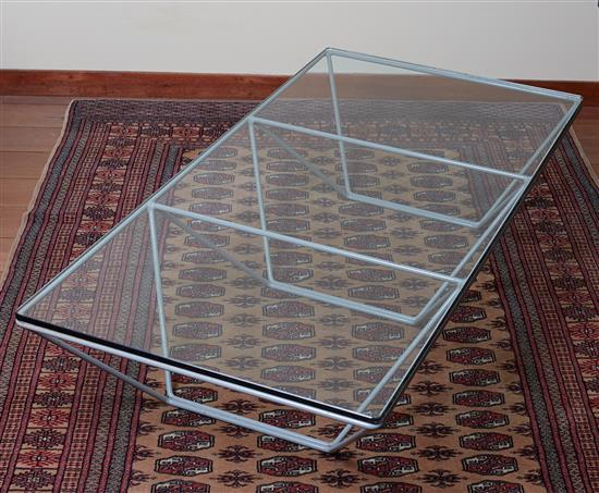 A PAOLO PIVA ALANDA PYRAMID COFFEE TABLE, CIRCA 1990
