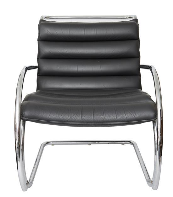 A ''MR LOUNGE'' CHAIR IN THE STYLE OF MIES VAN DER ROHE