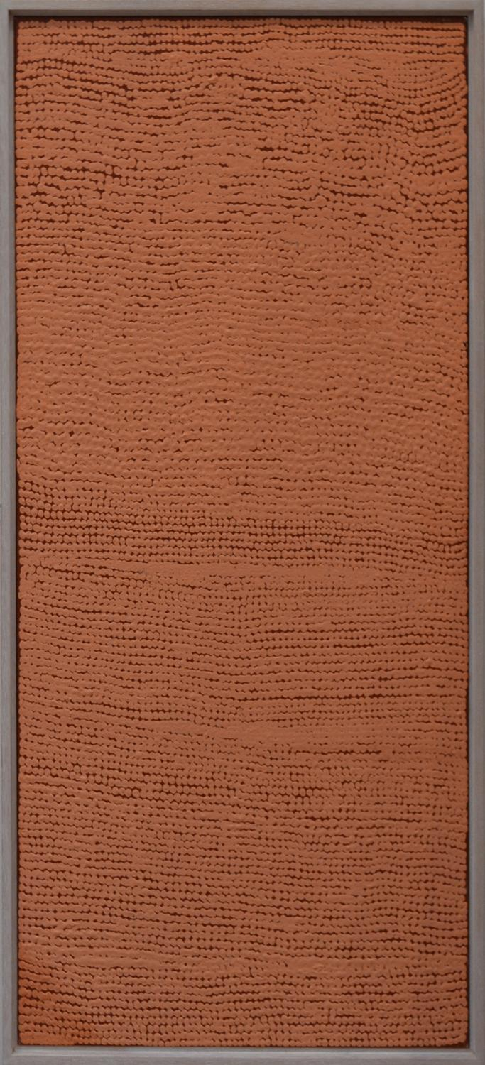BENNY TJAPALTJARRI, ASSITED BY KAWAYI NAMPITJINPA, UNTITLED, ACRYLIC ON LINEN, 91 X 46CM, ACOMMPANIED BY CERTIFICATE OF AUTHENTICITY