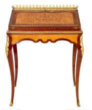 AN FINE FRENCH WRITING BUREAU, BY CHARLES-GUILLAUME DIEHL (1811-1885), CIRCA 1880. Signed to lockplate Diehl, Paris. 84.5cm high, 66...