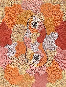 [ Aboriginal Artwork ] William SANDY [1944 - ]