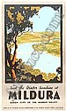[ Posters ] c1930 Victorian Railways travel poster No.87,