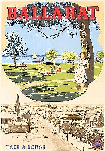 Posters: c1947 Victorian Railways poster No.224,