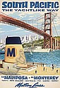 Posters: c1960 travel poster,