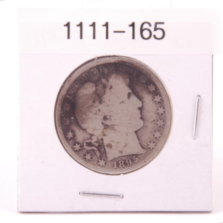 Barber Half Dollar 1895