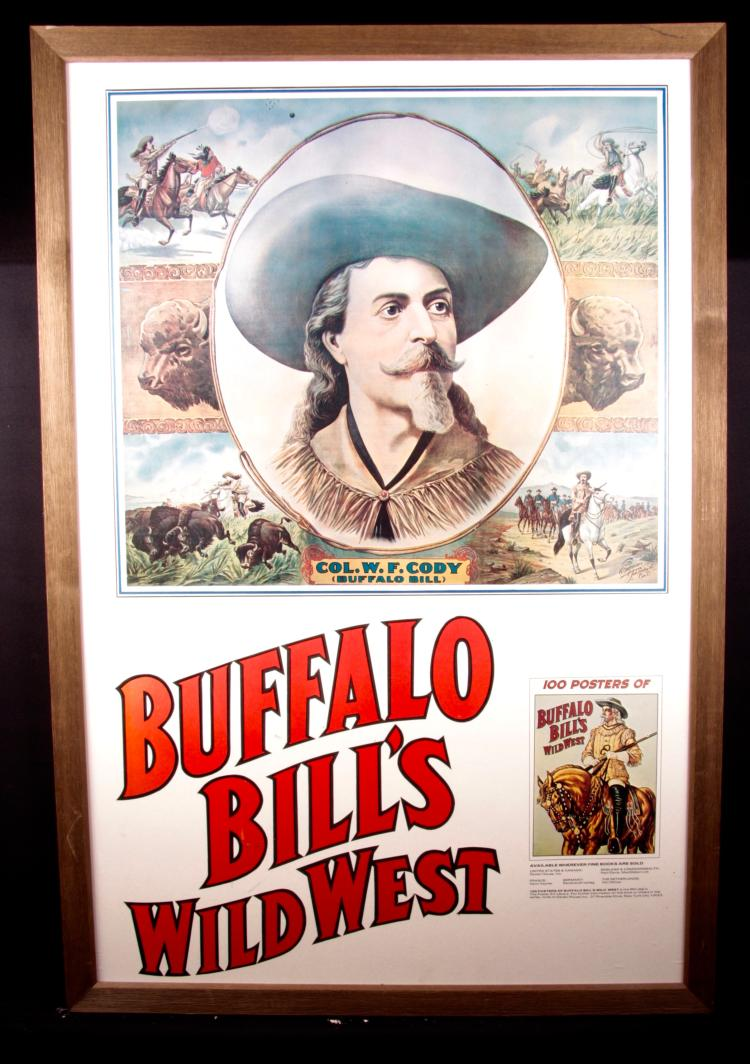 Buffalo Bill Poster Reproduction
