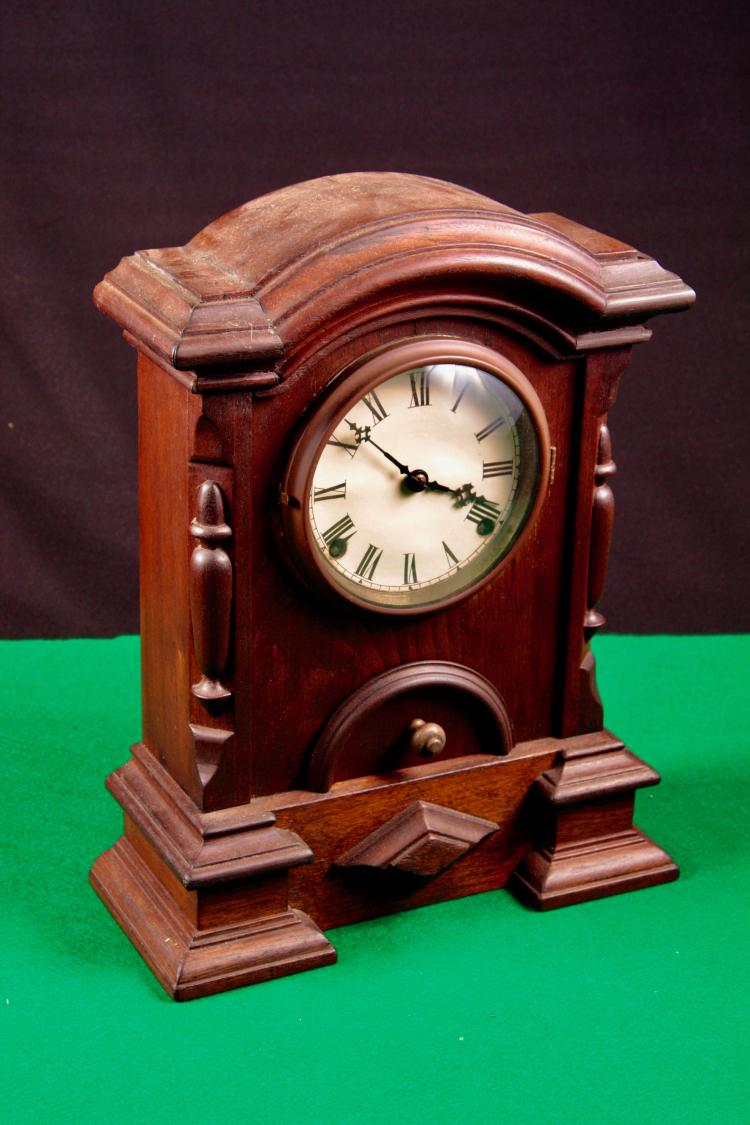 Antique Wood Clock.