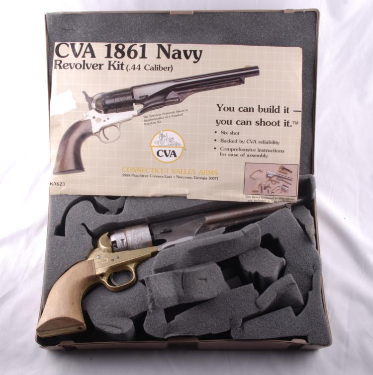 CVA 1861 Navy Replica Revolver Kit