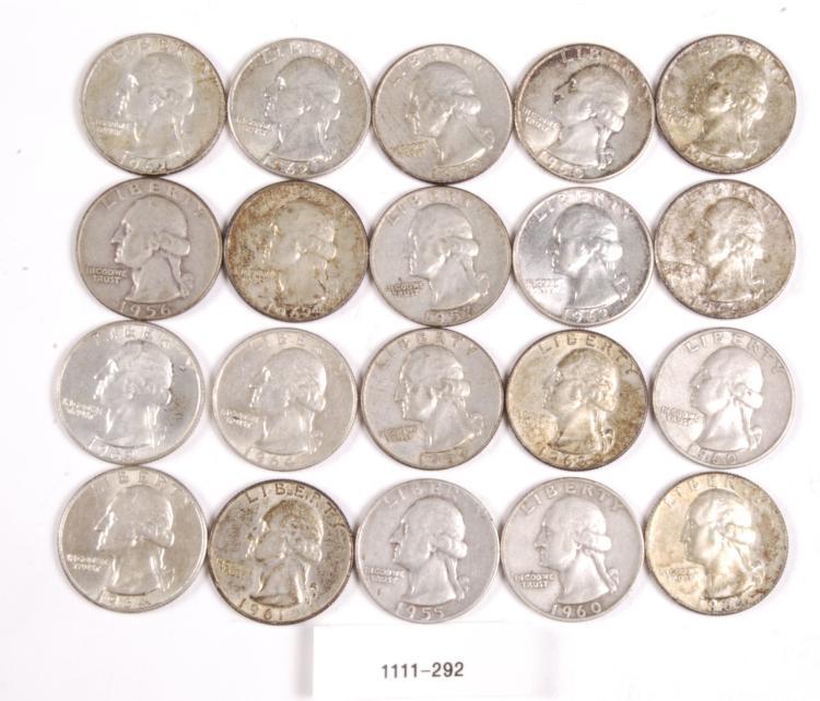 Silver Washington Quarter Key Variations and Dates | Detecting365 ...