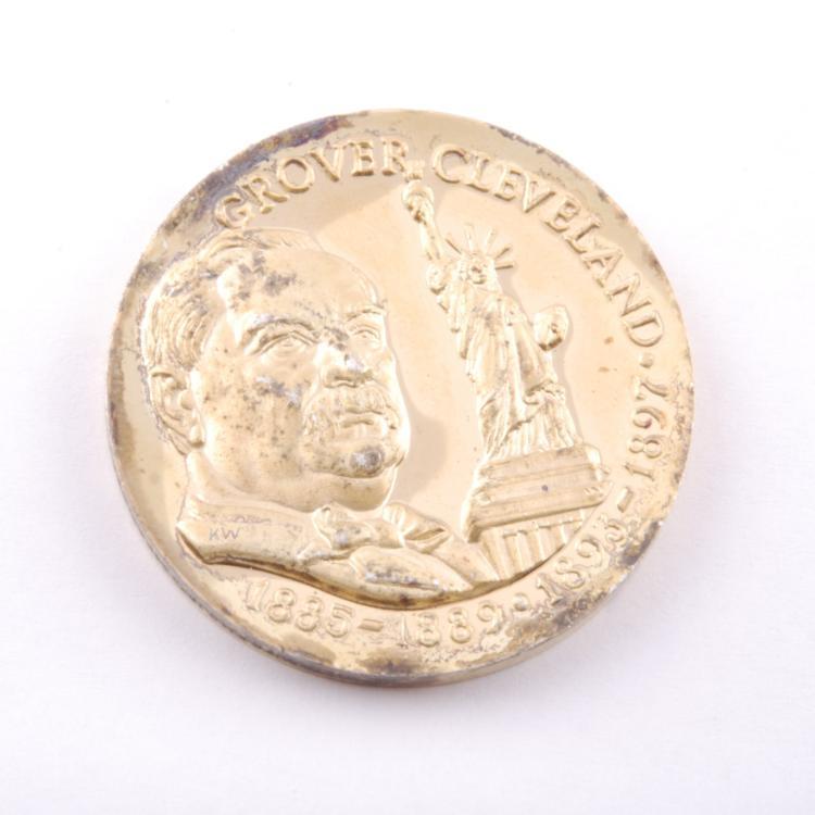 grover cleveland coin