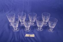 8 Juice Glasses in Regent by Stuart