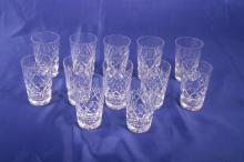 12 Juice Glasses Georgian by Webb Corbett