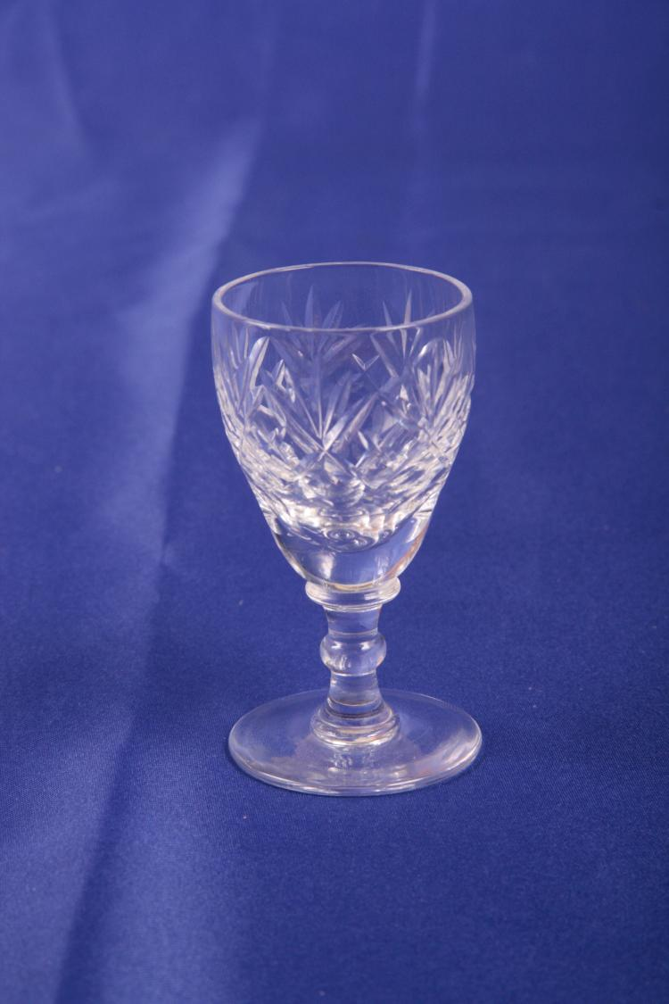 6 Georgian by Webb Corbett Cordial Glasses.