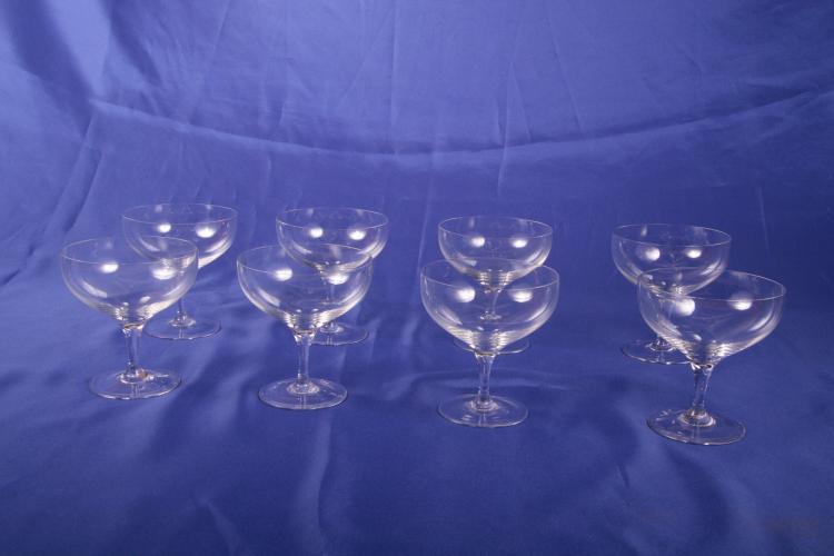 8 Riedel Champagne Glasses