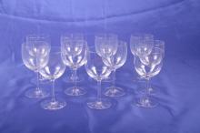 11 Liquor Cocktail Glasses. Riedel.