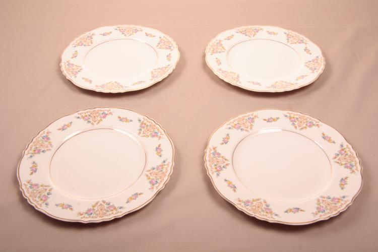 4 Salad Plates Federal Syracuse China