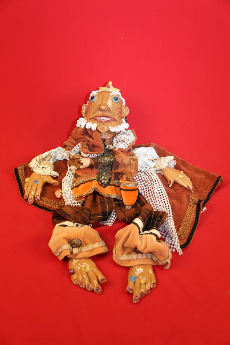 Ceramic Puppet Marionette made in Italy