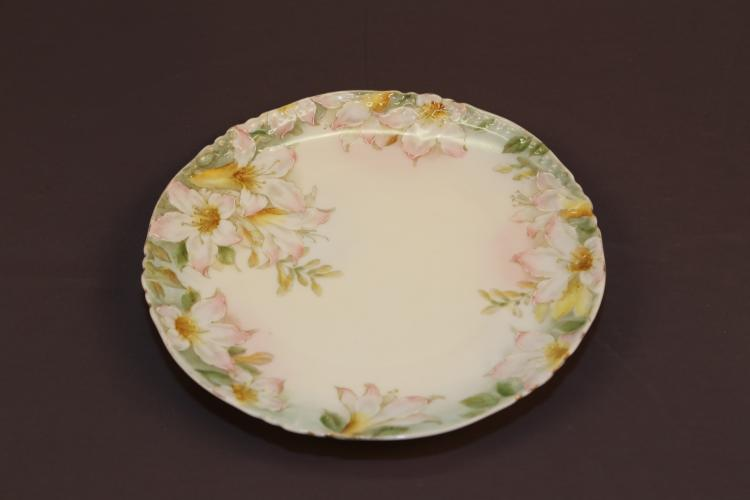 Lily German China Plate.