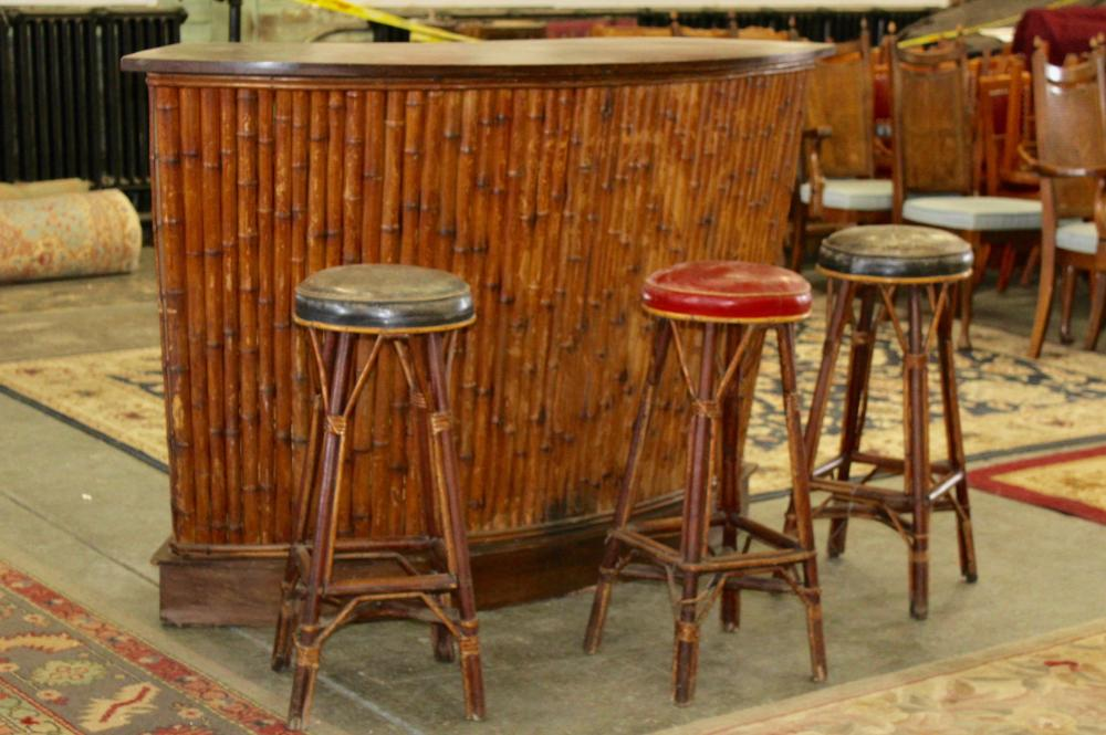 Outstanding Authentic Tiki Bar With Stools Customarchery Wood Chair Design Ideas Customarcherynet