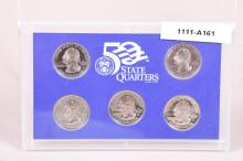United States Mint 50 State Quarters Proof Set. 2006