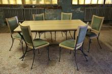 French Dining room Table and Chairs