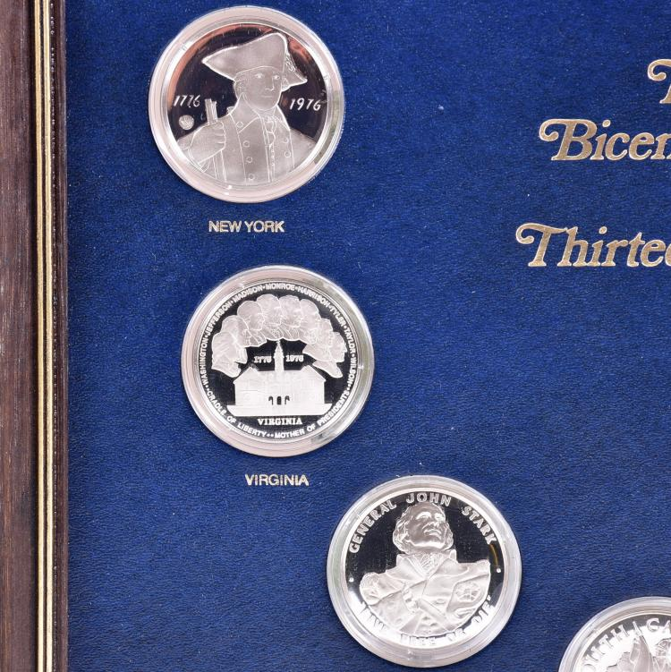 ... Bears Furniture Franklin Pa By Sterling Franklin Mint The Official  Bicentennial Medals Of T ...