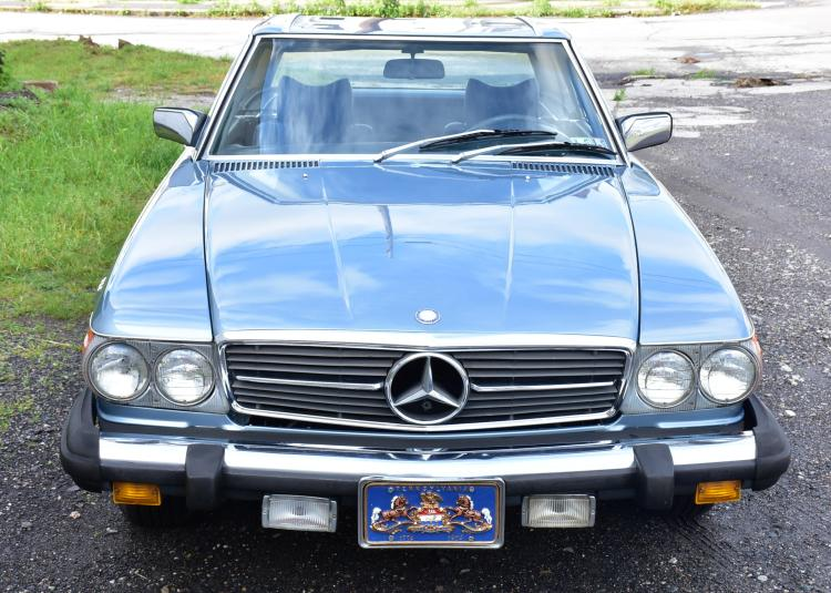 Vintage Mercedes Benz Convertible 77