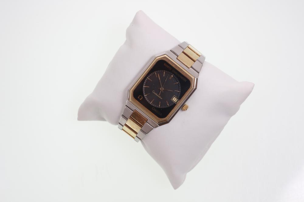 Omega Constellation Quartz Chronometer Watch