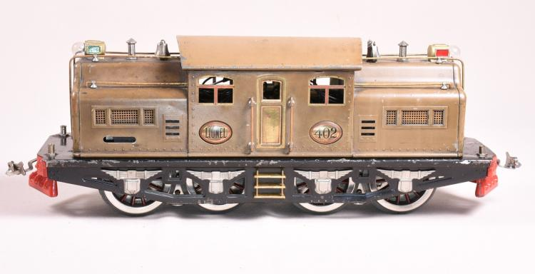 lionel pre war engine with cars standard 402 418 419
