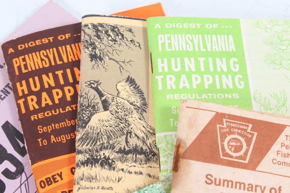 "Details about  /Vintage 1975 Pennsylvania Fish Commission /""Pennsylvania Fishes/"" Booklet"