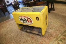Ma's root beer vending machine cooler