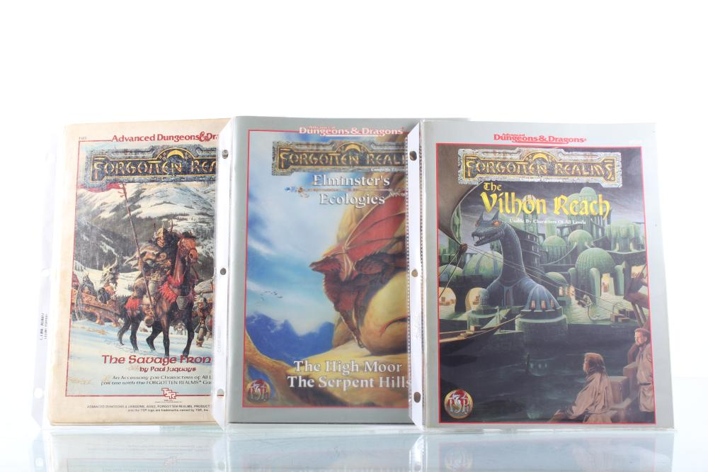 Advanced Dungeons & Dragons Forgotten Realms Play Books