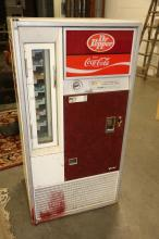 Vintage Doctor Pepper Vendo vending machine model VF 63-7