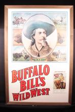 Buffalo Bill Poster Reproduction.