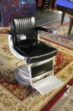 Vintage Belmont Barber Chair.