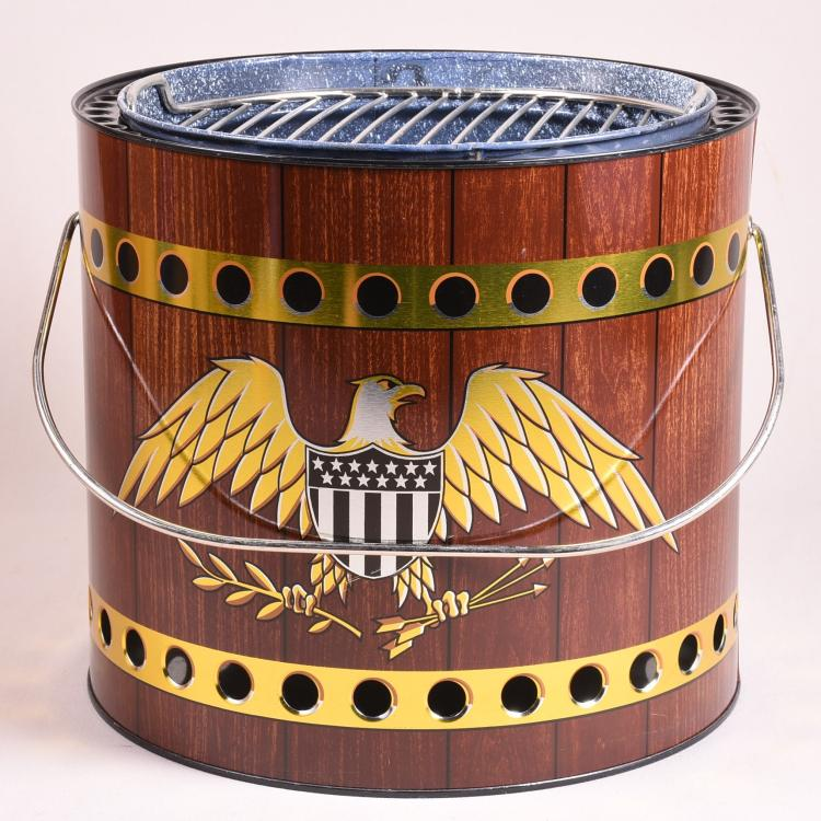Vintage American Eagle Portable Grill
