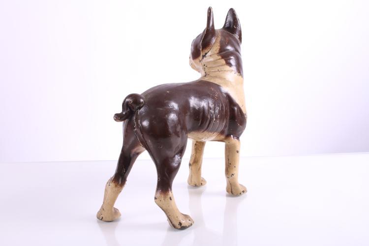 Antique cast iron dog door stopper - Dog door blocker ...