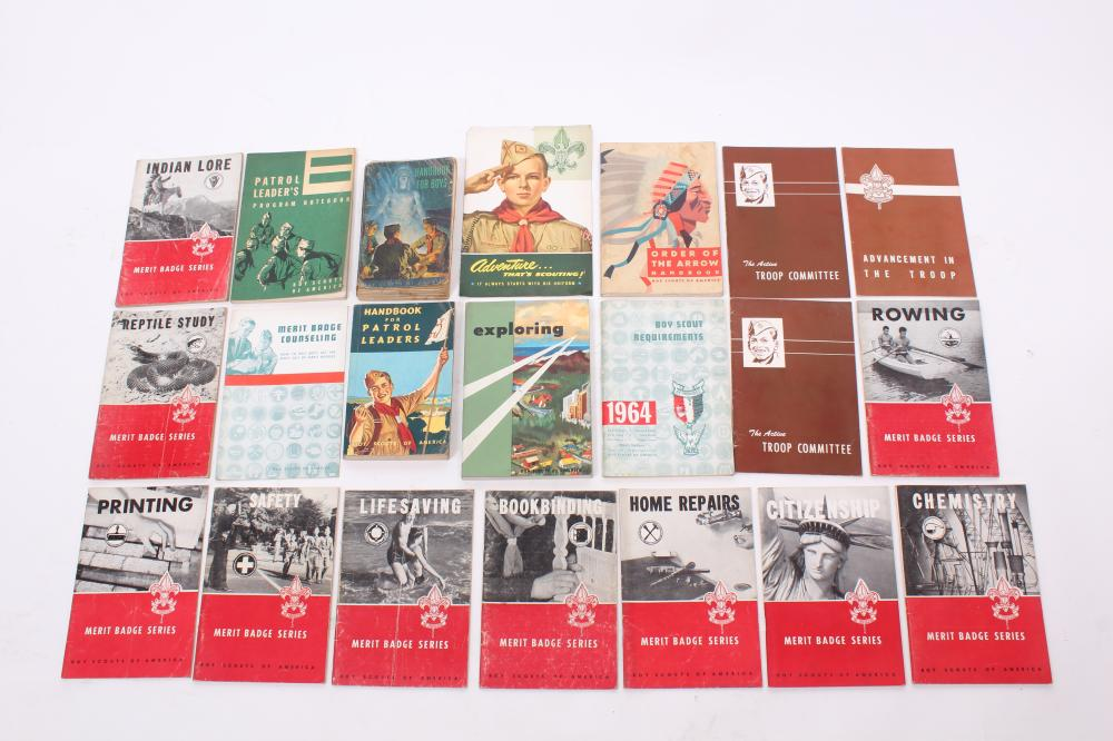 Boy Scouts of America Collection: Lot of Twenty-one