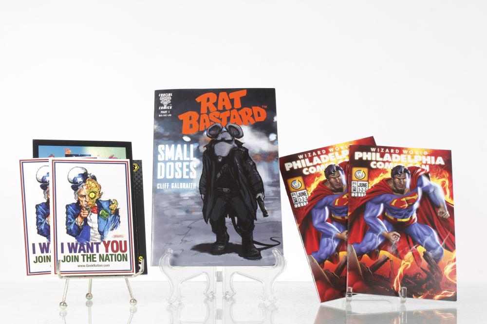 Crucial Comics Part One Rat Bastard Signed Cliff Galbraith
