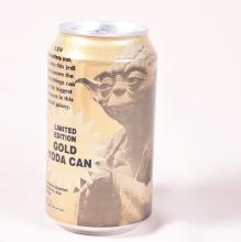 Gold Star Wars Pepsi Can
